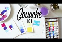 Painting - GUACHE