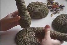 Плетение из иголок