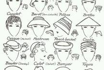 шляпы, шляпки, беретики и шапочки