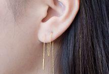 earrings and pircings