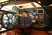 Fun Color Themed Interiors