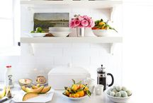 art in the kitchen / by donna @ a perfect gray