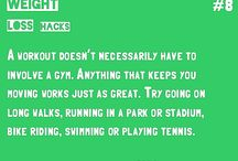 exercise / by 1000 Weight Loss Hacks