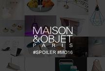 Maison et Objet Paris Janvier 2016 / #MO16 #live #Maison&Objet #deco #design #interior #decor #paris