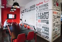 Graphic design office / Graphic design office inspiration