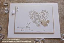 Stamping Up Hochzeitseinladung