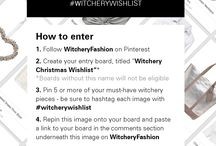 Witchery Christmas Wishlist
