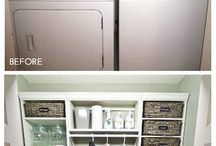 washer dryer storage