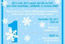 Chloe's Winter 1-derland Party / by Heather Jones