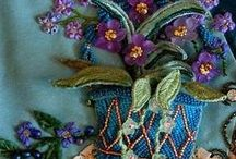 Beautiful Embroidery Ideas / I love these embroidery pins #Embroidery