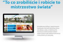Realizacje - serwisy WWW / W albumie znajdują się grafiki przedstawiające zrealizowane dla Klientów Migomedia serwisy WWW.