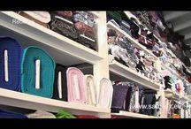 winkels voor lingerie, badkleding  en modestoffen