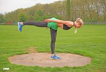 special exercises / This exercise strengthens the body and trains the body perception.