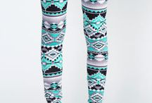 Aztec leggings / by Sedee Omokaro