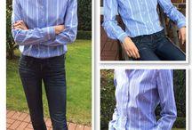 Blusensüchtig / Ich liebe Blusen! Da ich dies fast täglich trage, entwerfe und nähe ich meine Blusen selber. Hier eine Auswahl aus der aktuellsten Kollektion!
