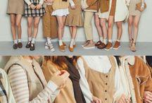 Group dress