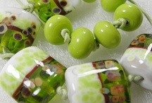 My glassbeads Green