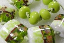 My glassbeads Green