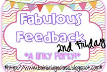 Fabulous Feedback Linky Party / I'll be hosting a fabulous feedback linky on the 2nd Friday of each month!  Check out this great feedback for these amazing products! / by Christina Bainbridge