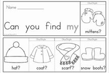 preschool January / by Aj Guilliams
