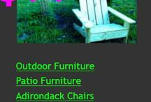 Nashville Adirondack Chairs / Hand crafted Adirondack chair from a Nashville artist. Roomy, comfortable Signature Chairs. http://signaturechairs.com/nashville-adirondack-chair.htm