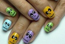 Halloween nails / by Rebecca Price