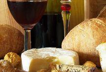 Formaggio con vino