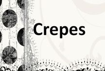 CREPES / Crepes, Savory, Sweet, Seafood, Veggie http://www.DoreensKitchen.com