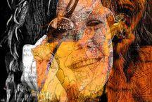Janis Joplin Pop Art Canvas