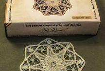 Romanian point lace kit1