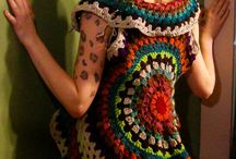 Trabajos de crochet, tricot