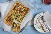 Spring Fling Recipes / Welcome daffodils and green things with these pretty springy springtime dishes.