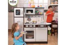 Kitchen!Pre-school/young children s pretend wooden toy