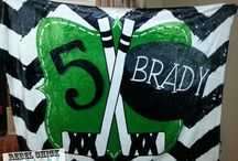Personalized Custom Hockey Gifts and Decor / Rebelandsass@yahoo.com