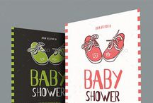 Shower for Baby Party Invitation