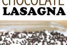 chocolate lasagne
