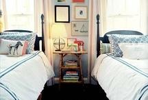 bedrooms / by Kaki Cobb