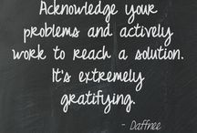 Daffnee's Quotes / Quotes and pieces of advice for becoming more successful and making life easier!  / by Daffnee Cohen
