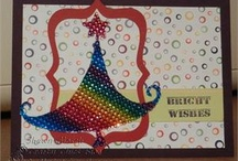 Cards that sparkle from The Buckle Boutique / Use our products to add some instant sparkle to your everyday cards