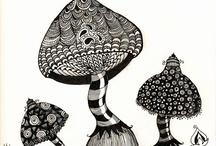 Mushroom Art / by Susan M. Wermeling