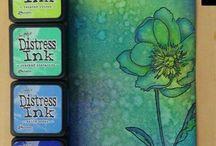 Distress inkt