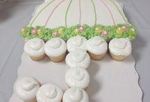 cupcakes cakes / cupcake cake ideas
