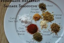 Spice Blends & other mixes