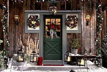 ho ho ho {porches} / by Marci Welcker