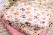 Dog Fleece Blanket Bed Mat