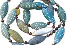 Polymer clay jewelery