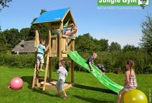 ► playtowers / 19 variations in fun Jungle Gym designs, from XL to XS. There is always one that will match your garden perfectly!
