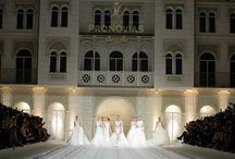 Pronovias 50 jarig jubileum / Vrijdag 9 mei was het 50 jarig jubileum van het meest bekende bruidsmodemerk ter wereld: Pronovias. Tevens werd de allernieuwste bruidsmode collectie geshowd.