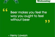 Witty words / Beer quotes and more via @GreensBeers