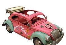 Vintage Cars Decorative